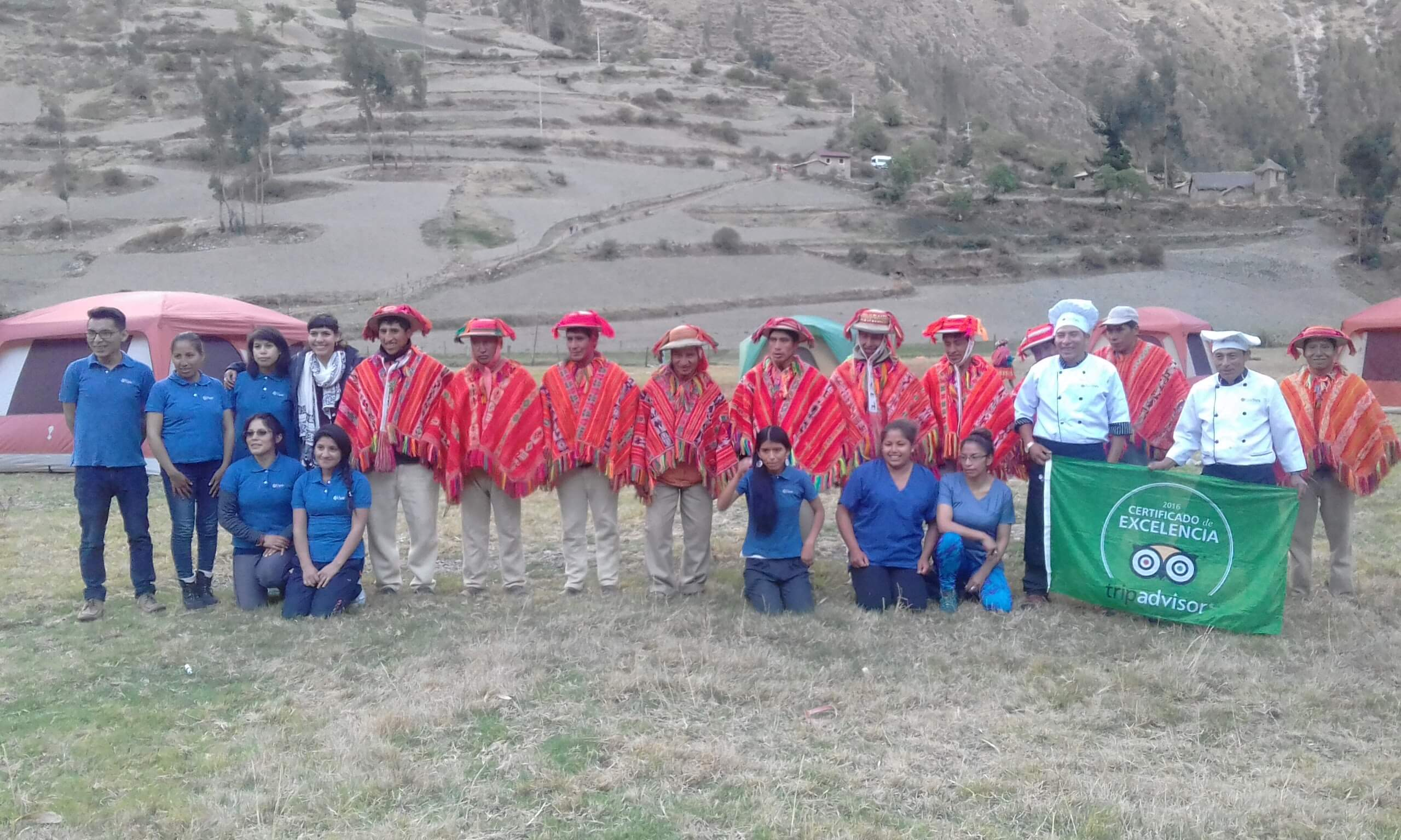 Inca Trail Luxury Trek Support Staff