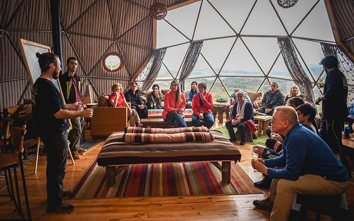 EcoCamp Patagonia Community Dome